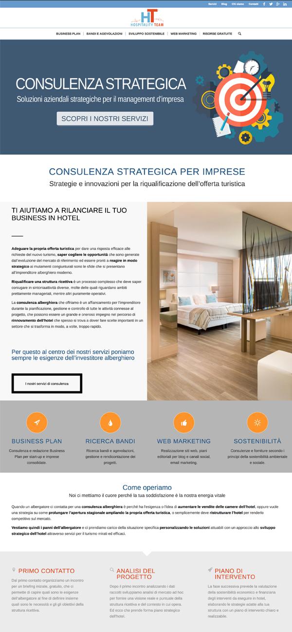 realizzazione sito hospitalityteam.it