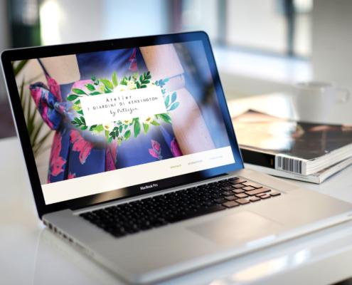 sito web per atelier a treviso
