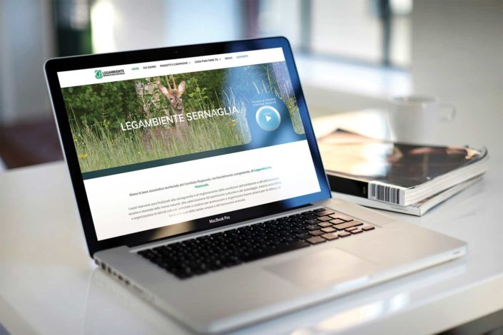 realizzazione sito web legambiente sernaglia.