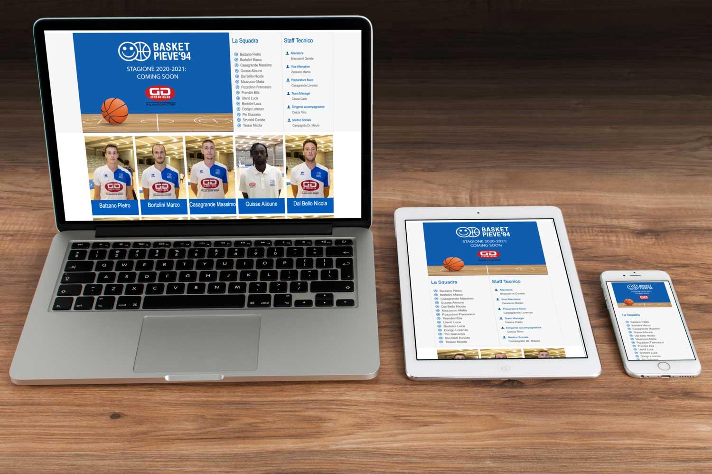 nuovo sito web basket